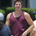 Liam Hemsworth on the set of Empire State in New Orleans 116652