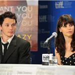 TIFF Photos: Anton Yelchin and Felicity Jones at Like Crazy press conference. Photos from Wenn.com and Alberto E. Rodriguez/Gettyimages.com 94168