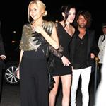 Lindsay Lohan and sister Ali attend a party last night 48070