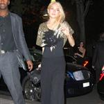Lindsay Lohan and sister Ali attend a party last night 48076
