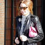 Lindsay Lohan in New York for Fashion Week with Samantha Ronson 32775