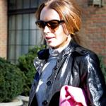 Lindsay Lohan in New York for Fashion Week with Samantha Ronson 32777
