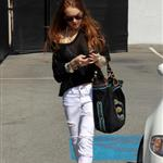 Lindsay Lohan shopping with sister Ali 38855