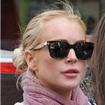Lindsay Lohan big lips in New York  81762
