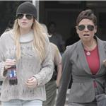 Lindsay Lohan meets with probation officer 62148
