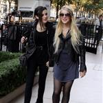 Lindsay Lohan in Paris with Ali Lohan 47860