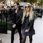 Lindsay Lohan in Paris with Ali Lohan 47861