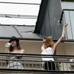 Lindsay Lohan in Paris with Ali Lohan  39035