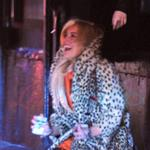Lindsay Lohan stumbles around New York after partying  82369