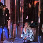 Lindsay Lohan stumbles around New York after partying  82370