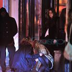 Lindsay Lohan stumbles around New York after partying  82371
