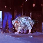 Lindsay Lohan stumbles around New York after partying  82373