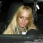 Lindsay Lohan goes back to blonde with a horrible dirty face 18907
