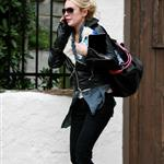 Lindsay Lohan leaving Jason Segel's after a sleepover 51755