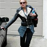 Lindsay Lohan leaving Jason Segel's after a sleepover 51757