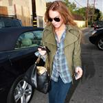 Lindsay Lohan shopping in LA yesterday 28702