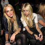 Lindsay Lohan and Taylor Momsen hang out at Fashion Week  46999