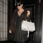 Lily Allen leaving 34 restaurant in Mayfair, London 110045