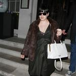 Lily Allen leaving 34 restaurant in Mayfair, London 110049
