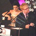 Lily Allen gets drunk at GQ Men of the Year Awards and insults Elton John on stage 24242