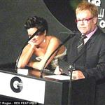 Lily Allen gets drunk at GQ Men of the Year Awards and insults Elton John on stage 24239