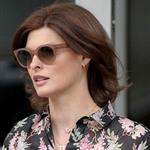Linda Evangelista on her way to court house in New York 113291