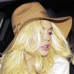 Lindsay Lohan out after leaving the Ken Paves hair salon in Los Angeles 100034