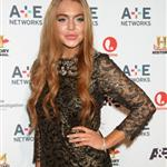 Lindsay Lohan at A&E Networks 2012 Upfront at Lincoln Center 114179