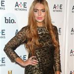 Lindsay Lohan at A&E Networks 2012 Upfront at Lincoln Center 114191