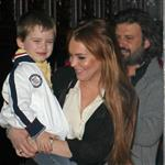 Lindsay Lohan leaves her hotel in New York with Domingo Zapata  126951