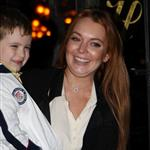 Lindsay Lohan leaves her hotel in New York with Domingo Zapata  126953