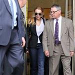 Lindsay Lohan departs the Beverly Hills Courthouse  71469