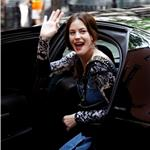 Liv Tyler in New York with mother and son Milo 61717