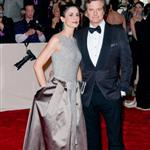 Colin Firth and wife Livia at Met Gala 2011 84595