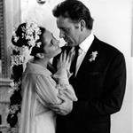 Elizabeth Taylor and Richard Burton's wedding photo 124626