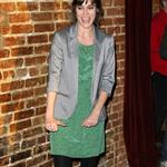Lizzy Caplan attends the premiere of HBO's Eastbound & Down Season 3 at Cinespace 105442