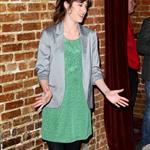 Lizzy Caplan attends the premiere of HBO's Eastbound & Down Season 3 at Cinespace 105443