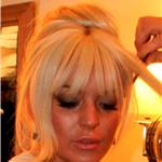 Lindsay Lohan getting ready for Kim Kardashian wedding 92429
