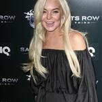 Lindsay Lohan at Saints Row The Third party  96195