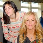 Ali Lohan with Dina Lohan at a Thanksgiving volunteer dinner 51182