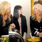 Ali Lohan with Dina Lohan at a Thanksgiving volunteer dinner 51184