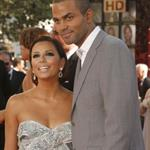 Eva Longoria Parker Tony Parker at Emmy Awards 2008 25024