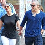 Jennifer Lopez and Casper Smart go for dinner in New York 121444