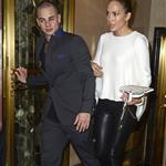 Jennifer Lopez and Casper Smart have dinner at Cipriani in Soho 121552