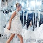 Kate Moss closes Louis Vuitton Ready to Wear Spring / Summer 2012 show during Paris Fashion Week on October 5, 2011 95778
