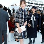 Olivia Wilde at Louis Vuitton Ready to Wear Spring / Summer 2012 show during Paris Fashion Week on October 5, 2011 95781