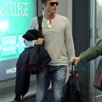 Rob Lowe arrives at the Vancouver Airport 111923