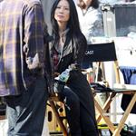 Lucy Liu on location for Elementary in Queens, NY 109307