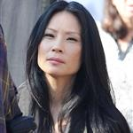 Lucy Liu on location for Elementary in Queens, NY 109308