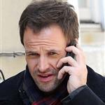 Jonny Lee Miller on location for Elementary in Queens, NY 109310